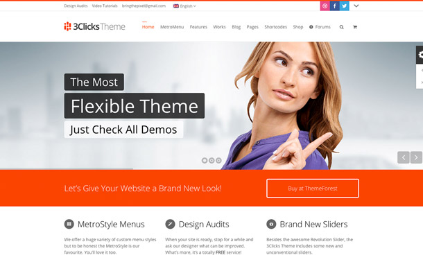 3clicks-wordpress-theme