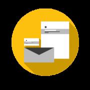 Corporate Design beinhaltet Visitenkarten, Flyer, Logoerstellung und auch den Briefkopf.