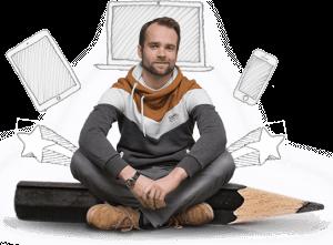Als Webdesigner biete ich Webdesign aber auch Erklärvideos an