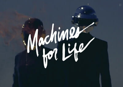 Scrollytelling - Machines for life
