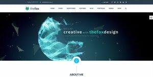 Fox Theme - die besten WordPress Themes 2016