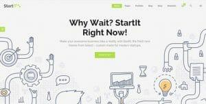 Startit theme - die besten WordPress Themes 2016