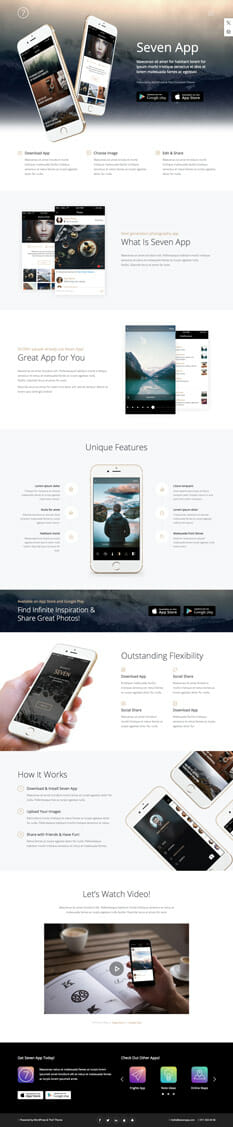 The 7 Theme - - die besten Wordpress Themes 2016