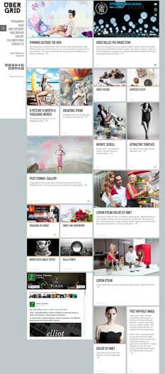 Ubergrid Theme - die besten Wordpress Themes 2016