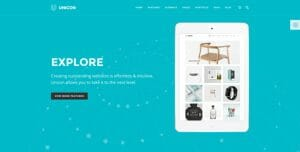 Unicon theme - die besten WordPress Themes 2016
