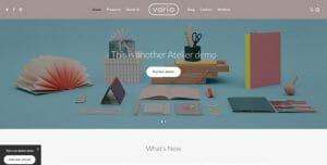 Atelier theme - die besten WordPress Themes 2016