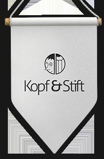 Kopf & Stift Werbeagentur Dresden Logo