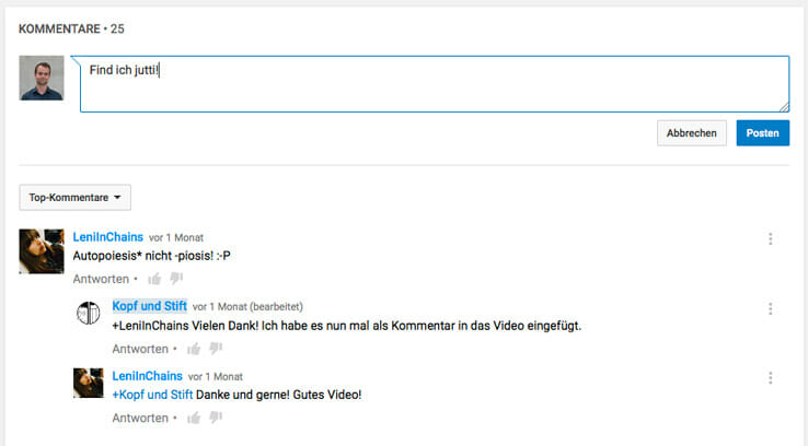 youtube-seo-kommentare