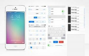 Flat Design Beispiel iOS7