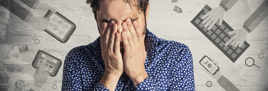 Die 8 häufigsten Webdesign Fehler können auch mich manchmal zum heulen bringen