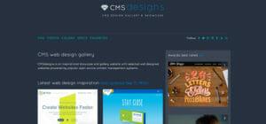 Webdesign Inspirationsquellen CMS Designs