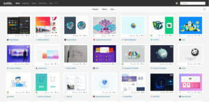 Webdesign Inspirationsquellen Dribbble