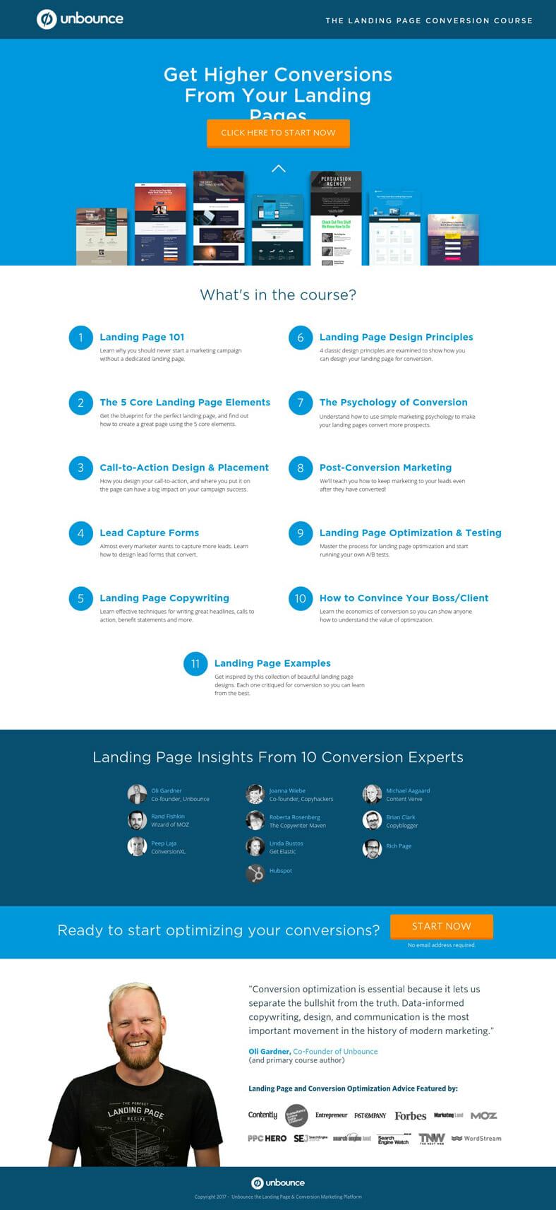 Landing Page Beispiele Aufbau Und Tipps Exactly 8