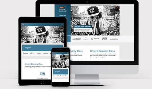 Ausgezeichnetes Webdesign für Basel vom hochmotivierten Webdesigner
