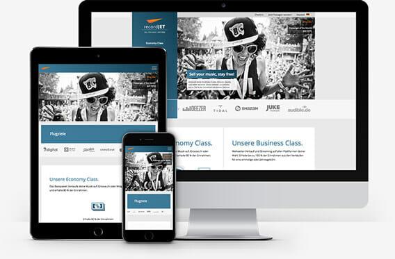 Webdesign für Koeln bietet knorke Websites an