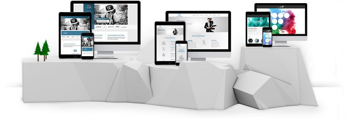 Webdesigner Basel mit Konzept