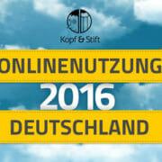 Onlinenutzung in Deutschland 2016 Infografik