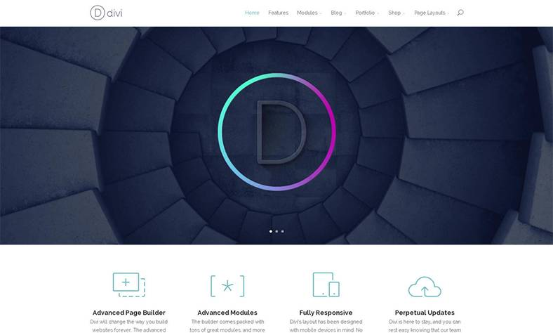 Das Divi WordPress Theme ist auch 2018 noch aktuell und kreativ
