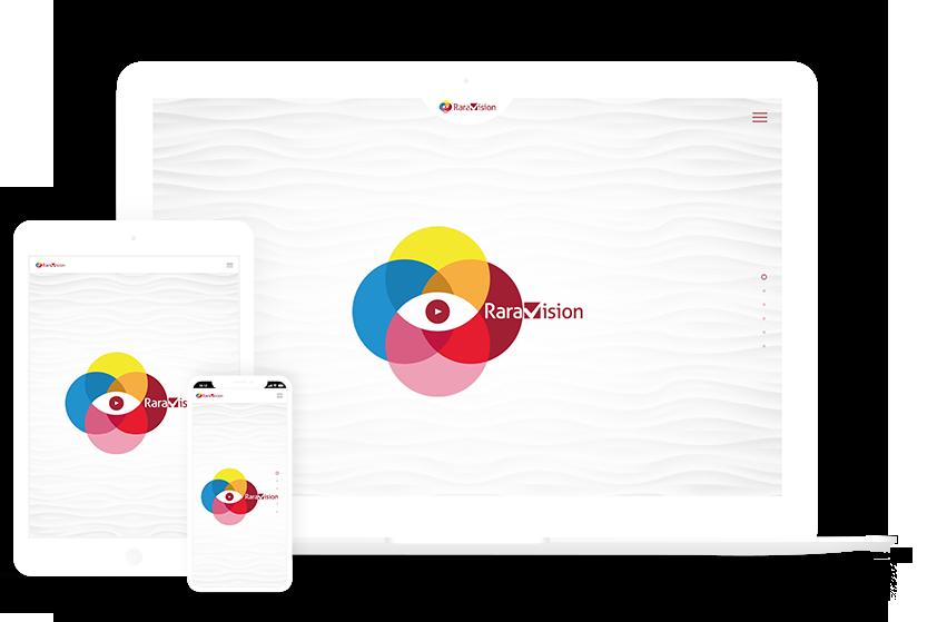 Webdesign Referenz raraVision Mockup