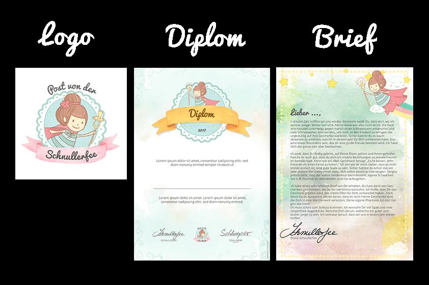 Webdesign Referenz Schnullerfee Printdesign