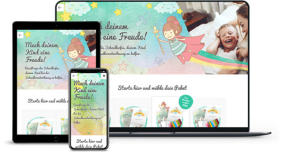 Webdesign Referenz Onlineshop mit WooCommerce