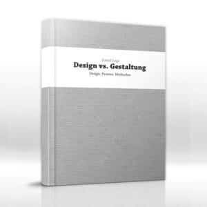 Design vs Gestaltung Mockup