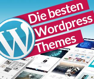 Die besten Wordpress Themes 2019 Widget