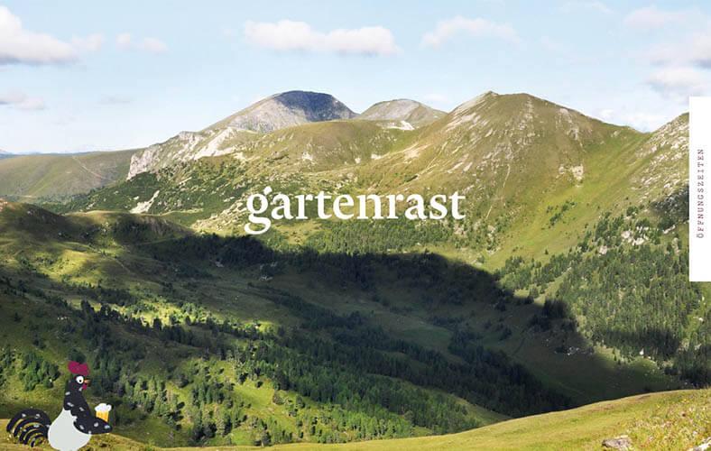 schoene-webseiten-_0063_Gartenrast Inmitten der Kaerntner Nockberge unweit des Millstaetter Sees gibt's die wohl best