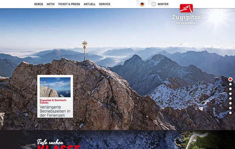 schoene-webseiten-_0081_Willkommen auf der Zugspitze zugspitze.de