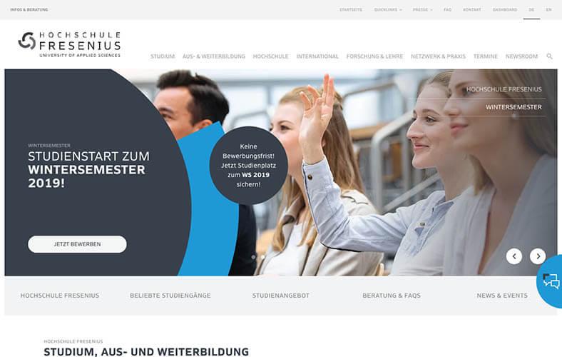 schoene-webseiten-_0106_Hochschule Freseniusnext Generation University Since 1848