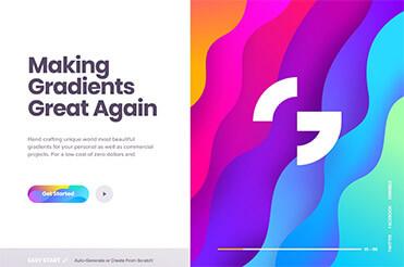 Verläufe sind wieder zurück im Webdesign