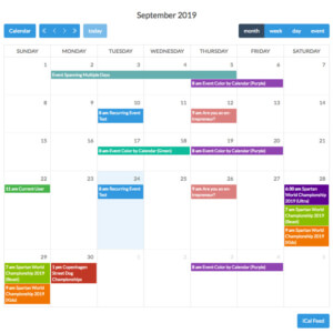 Calendarize it Screen