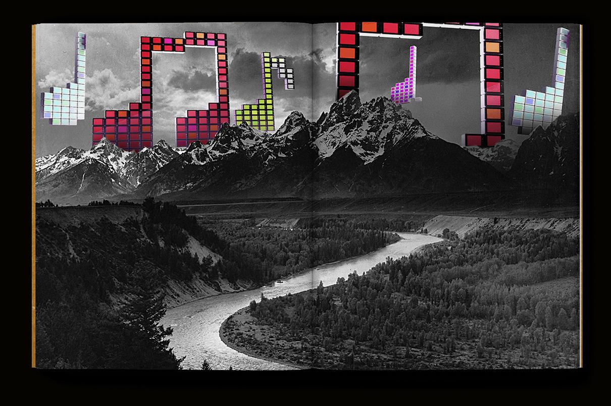 Sprache visualisiert Illustration Ansicht