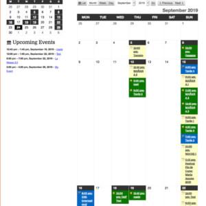 My Calendar Veranstaltungsplugin