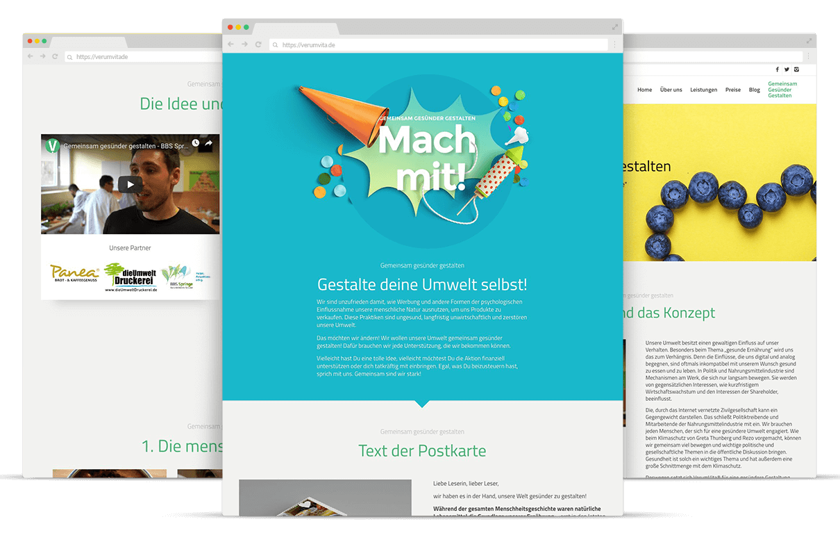 Webdesign Screendesigns