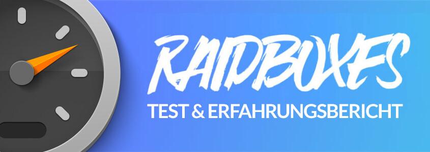 Raidboxes Hosting Erfahrungsbericht und Test Thumbnail
