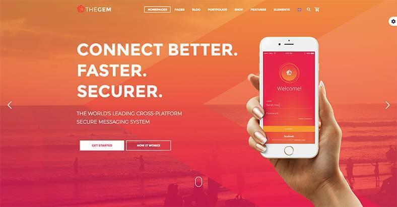 The Gem theme - das umfangreichste WordPress Theme 2021