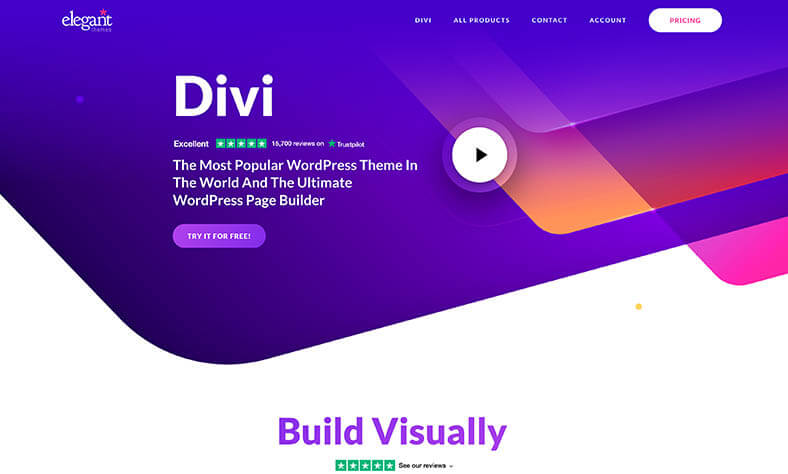 Das Divi WordPress Theme ist auch 2021 noch aktuell und kreativ