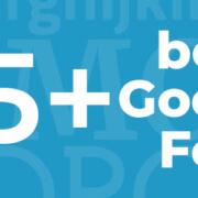Die 35 besten Google Webfonts Thumbnail