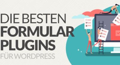 Die besten Formular Plugins für Wordpress
