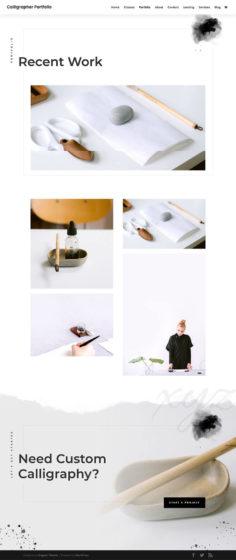 Das Divi Theme eignet sich sehr gut für deine Fotografen Website